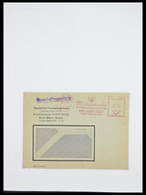 Stamp collection 33821 DDR service.