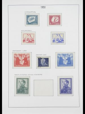 Stamp collection 33824 DDR 1949-1990.