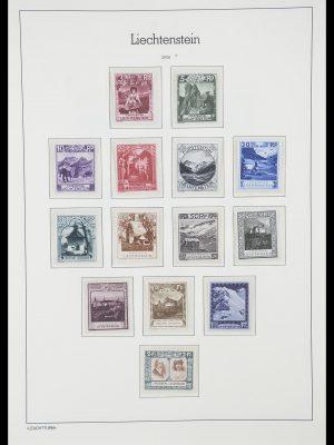Stamp collection 33825 Liechtenstein 1912-1997.