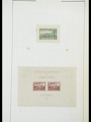 Stamp collection 33817 Luxembourg 1852-2019.