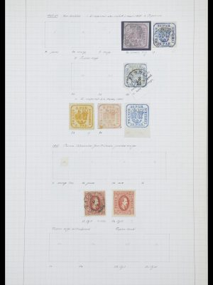 Stamp collection 33822 Romania 1862-1940.