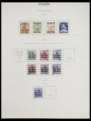 Stamp collection 33835 Poland 1918-1939.