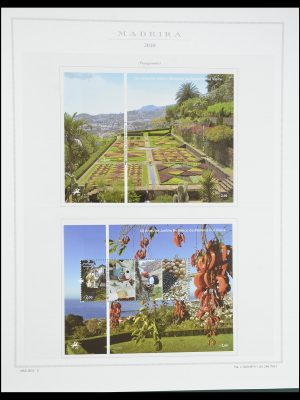 Stamp collection 33841 Azores and Madeira 1980-2010.