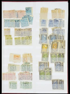 Stamp collection 33843 Estonia and Latvia 1918-1940.