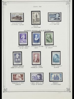 Stamp collection 33847 France 1951-1979.