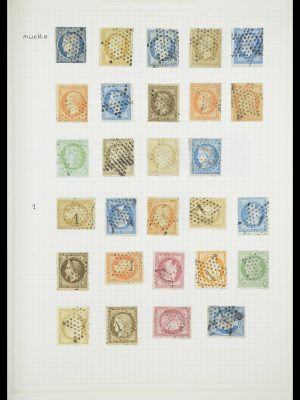 Stamp collection 33851 France classic cancels.