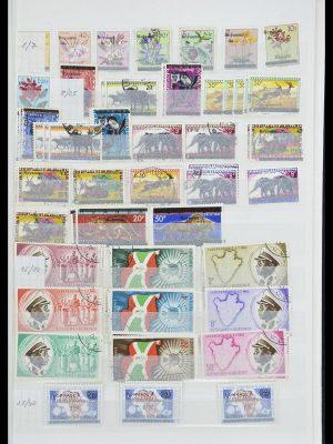 Stamp collection 33855 Burundi 1962-1974.