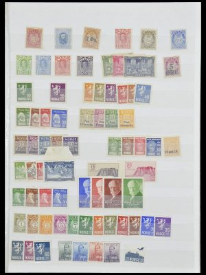 Stamp collection 33872 Norway 1878-1995.