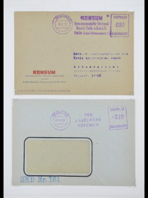 Stamp collection 33883 DDR service covers 1956-1986.