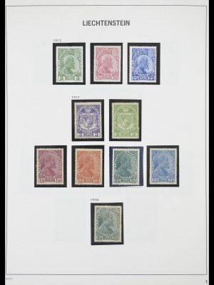 Stamp collection 33890 Liechtenstein 1912-1986.