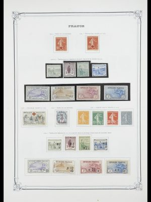 Stamp collection 33900 France 1849-1966.