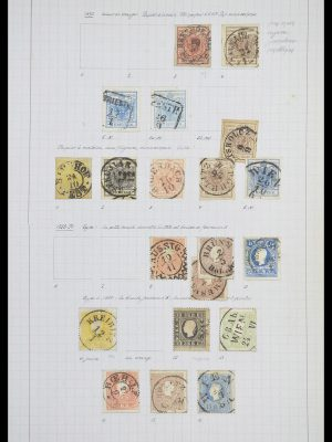 Stamp collection 33901 Austria and territories 1850-1965.