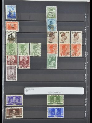 Stamp collection 33902 Romania 1866-2001.