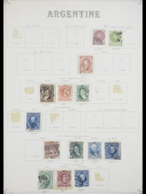 Stamp collection 33903 Latin America 1853-1920.