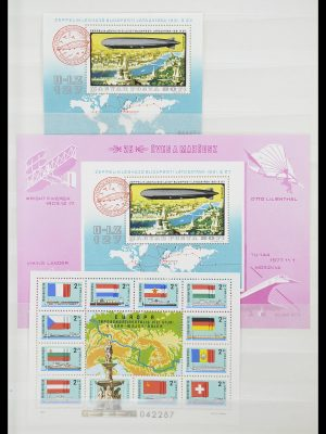 Stamp collection 33909 Hungary souvenir sheets 1977-2010.