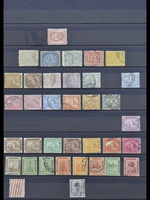 Stamp collection 33911 Egypt 1872-1978.