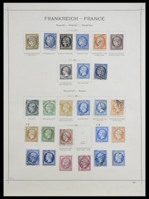 Stamp collection 33919 France 1849-1946.