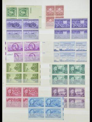 Stamp collection 33933 USA MNH 1945-1996.