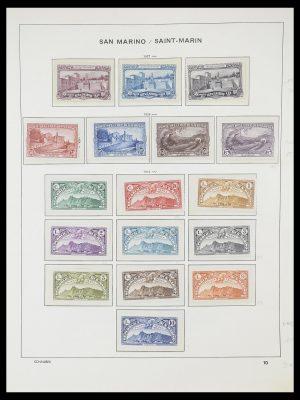 Stamp collection 33937 San Marino 1877-1983.