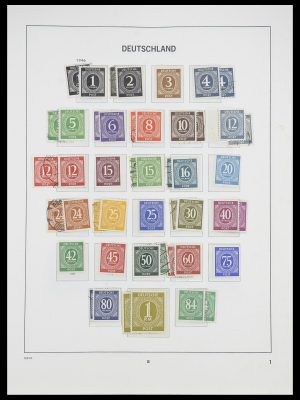 Stamp collection 33954 Bundespost and Berlin 1945-1972.