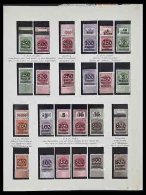 Stamp collection 33957 German Reich infla 1923.