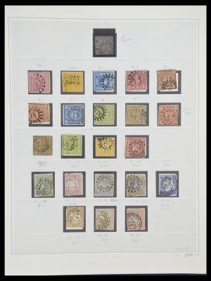 Stamp collection 33958 Bavaria 1849-1920.