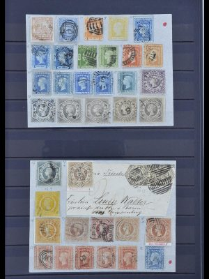 Stamp collection 33960 British colonies classic 1850-1920.