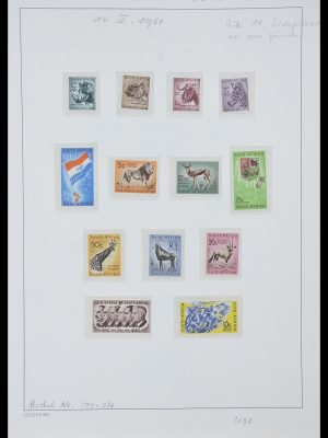 Stamp collection 33962 South Africa 1961-1969.