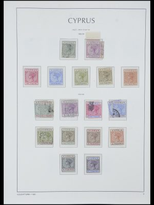 Stamp collection 33967 Cyprus 1880-2004.