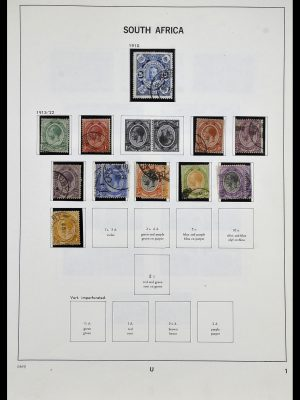 Stamp collection 33969 South Africa 1910-1997.