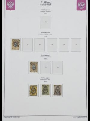 Stamp collection 33974 Russia 1858-1998.