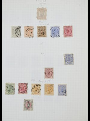 Stamp collection 33980 Finland and Baltic States 1866-1990.