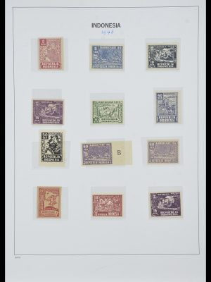 Stamp collection 33988 Vienna printings Indonesia.