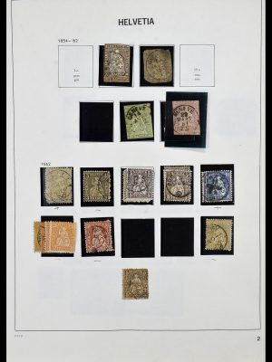 Stamp collection 33990 Switzerland 1854-1998.