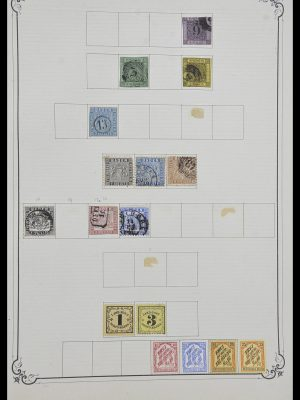 Stamp collection 33991 European countries 1851-ca. 1920.