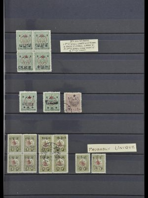 Stamp collection 34012 Cilicia 1919-1920.