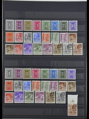 Stamp collection 34014 Indonesia 1950-1954.
