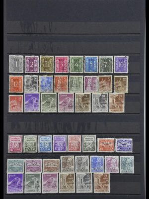 Stamp collection 34015 Indonesia 1950-1954.