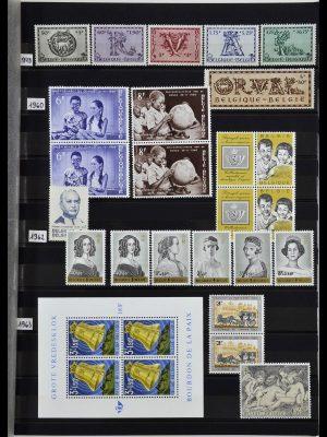 Stamp collection 34019 Belgium 1960-2004.