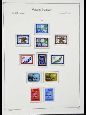 Featured image of Stamp Collection 34023 United Nations New York 1970-2018!