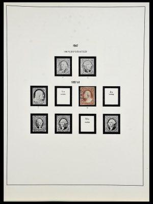 Stamp collection 34024 USA 1857-1995.