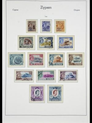 Stamp collection 34049 Cyprus 1960-2012.