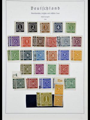 Stamp collection 34053 German Zones 1945-1949.