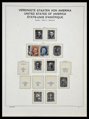 Stamp collection 34056 USA 1851-1972.