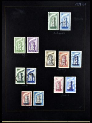 Stamp collection 34062 Europa CEPT 1956-1977.