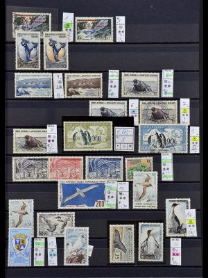Stamp collection 34068 French Antarctics 1955-2016.