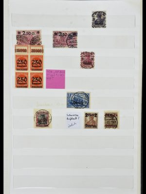Stamp collection 34069 Germany 1855-1952.
