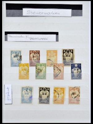 Stamp collection 34072 Japan fiscal stamps 1877-1932.