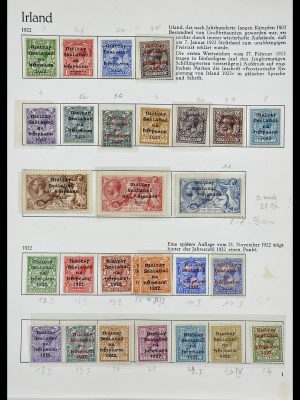 Stamp collection 34074 Ireland 1922-1979.