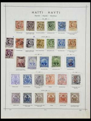 Stamp collection 34078 Haïti 1881-1970.